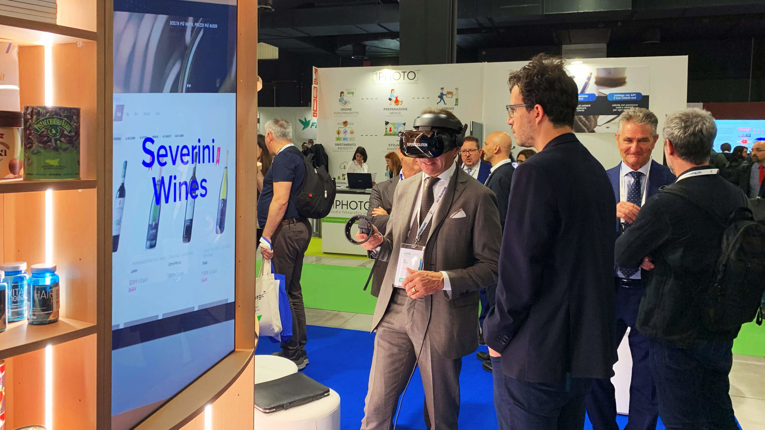 Evento VarGroup al Netcomm 2019 con Superresolution